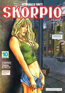 Copertina SKORPIO ANNO 18 n.10 - SKORPIO 1994            10, EDITORIALE AUREA
