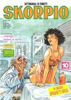 Copertina SKORPIO ANNO 18 n.11 - SKORPIO 1994            11, EDITORIALE AUREA