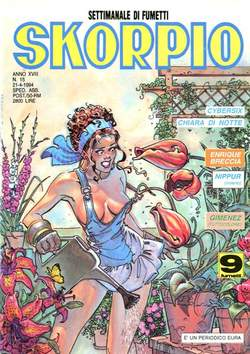 Copertina SKORPIO ANNO 18 n.15 - SKORPIO 1994            15, EDITORIALE AUREA