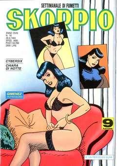 Copertina SKORPIO ANNO 18 n.16 - SKORPIO 1994            16, EDITORIALE AUREA