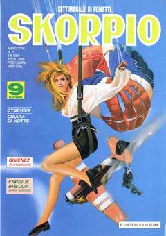 Copertina SKORPIO ANNO 18 n.17 - SKORPIO 1994            17, EDITORIALE AUREA