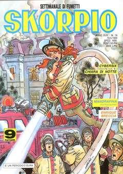 Copertina SKORPIO ANNO 18 n.19 - SKORPIO 1994            19, EDITORIALE AUREA