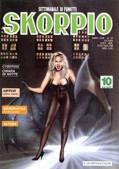 Copertina SKORPIO ANNO 18 n.22 - SKORPIO 1994            22, EDITORIALE AUREA
