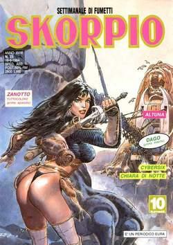 Copertina SKORPIO ANNO 18 n.23 - SKORPIO 1994            23, EDITORIALE AUREA