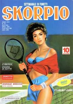 Copertina SKORPIO ANNO 18 n.25 - SKORPIO 1994            25, EDITORIALE AUREA