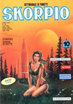Copertina SKORPIO ANNO 18 n.28 - SKORPIO 1994            28, EDITORIALE AUREA