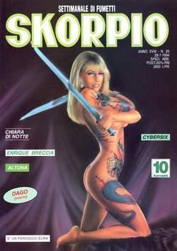 Copertina SKORPIO ANNO 18 n.29 - SKORPIO 1994            29, EDITORIALE AUREA