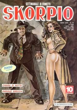 Copertina SKORPIO ANNO 18 n.34 - SKORPIO 1994            34, EDITORIALE AUREA
