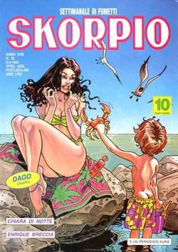 Copertina SKORPIO ANNO 18 n.35 - SKORPIO 1994            35, EDITORIALE AUREA