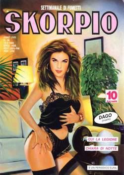 Copertina SKORPIO ANNO 18 n.36 - SKORPIO 1994            36, EDITORIALE AUREA