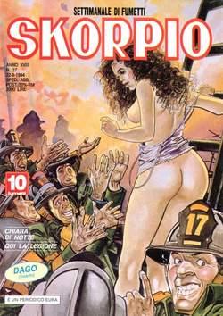 Copertina SKORPIO ANNO 18 n.37 - SKORPIO 1994            37, EDITORIALE AUREA