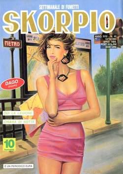 Copertina SKORPIO ANNO 18 n.40 - SKORPIO 1994            40, EDITORIALE AUREA