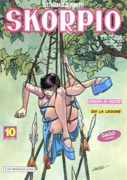 Copertina SKORPIO ANNO 18 n.42 - SKORPIO 1994            42, EDITORIALE AUREA