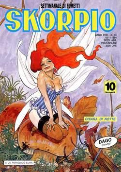 Copertina SKORPIO ANNO 18 n.44 - SKORPIO 1994            44, EDITORIALE AUREA