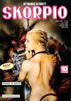 Copertina SKORPIO ANNO 18 n.45 - SKORPIO 1994            45, EDITORIALE AUREA