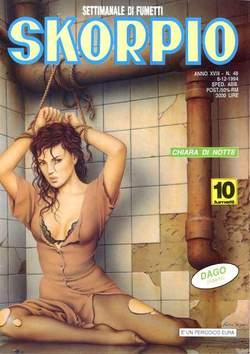 Copertina SKORPIO ANNO 18 n.48 - SKORPIO 1994            48, EDITORIALE AUREA