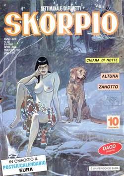 Copertina SKORPIO ANNO 18 n.52 - SKORPIO 1994            52, EDITORIALE AUREA