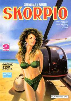 Copertina SKORPIO ANNO 18 n.6 - SKORPIO 1994             6, EDITORIALE AUREA
