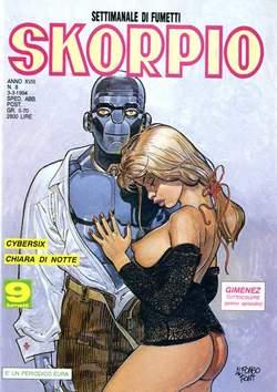 Copertina SKORPIO ANNO 18 n.8 - SKORPIO 1994             8, EDITORIALE AUREA