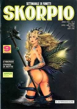 Copertina SKORPIO ANNO 18 n.5 - SKORPIO 1994             5, EDITORIALE AUREA