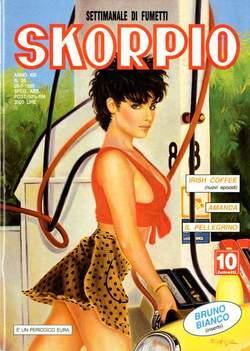 Copertina SKORPIO ANNO 19 n.28 - SKORPIO 1995            28, EDITORIALE AUREA