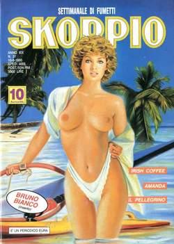 Copertina SKORPIO ANNO 19 n.31 - SKORPIO 1995            31, EDITORIALE AUREA