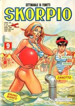 Copertina SKORPIO ANNO 19 n.34 - SKORPIO 1995            34, EDITORIALE AUREA