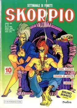 Copertina SKORPIO ANNO 19 n.42 - SKORPIO 1995            42, EDITORIALE AUREA