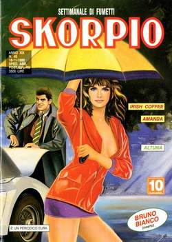Copertina SKORPIO ANNO 19 n.45 - SKORPIO 1995            45, EDITORIALE AUREA