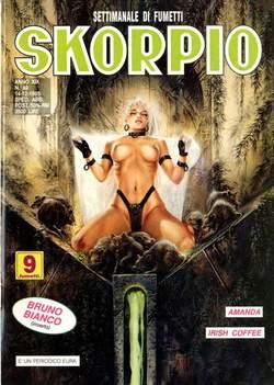 Copertina SKORPIO ANNO 19 n.49 - SKORPIO 1995            49, EDITORIALE AUREA