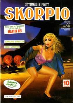 Copertina SKORPIO ANNO 19 n.50 - SKORPIO 1995            50, EDITORIALE AUREA
