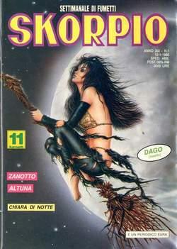 Copertina SKORPIO ANNO 19 n.1 - SKORPIO 1995             1, EDITORIALE AUREA
