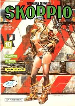 Copertina SKORPIO ANNO 19 n.2 - SKORPIO 1995             2, EDITORIALE AUREA