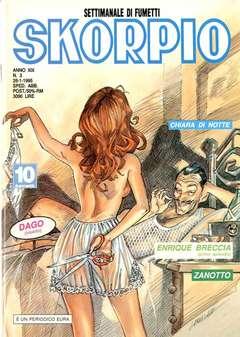 Copertina SKORPIO ANNO 19 n.3 - SKORPIO 1995             3, EDITORIALE AUREA