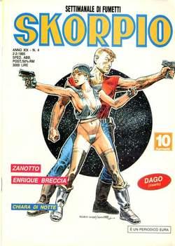 Copertina SKORPIO ANNO 19 n.4 - SKORPIO 1995             4, EDITORIALE AUREA