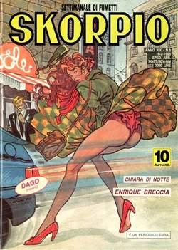 Copertina SKORPIO ANNO 19 n.6 - SKORPIO 1995             6, EDITORIALE AUREA