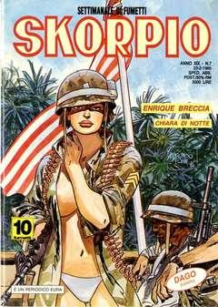 Copertina SKORPIO ANNO 19 n.7 - SKORPIO 1995             7, EDITORIALE AUREA