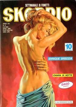 Copertina SKORPIO ANNO 19 n.5 - SKORPIO 1995             5, EDITORIALE AUREA
