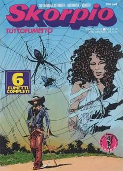 Copertina SKORPIO ANNO  2 n.10 - SKORPIO 1978            10, EDITORIALE AUREA