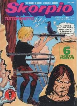 Copertina SKORPIO ANNO  2 n.13 - SKORPIO 1978            13, EDITORIALE AUREA