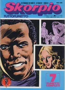 Copertina SKORPIO ANNO  2 n.16 - SKORPIO 1978            16, EDITORIALE AUREA