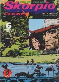 Copertina SKORPIO ANNO  2 n.17 - SKORPIO 1978            17, EDITORIALE AUREA