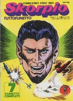 Copertina SKORPIO ANNO  2 n.19 - SKORPIO 1978            19, EDITORIALE AUREA