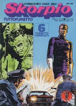 Copertina SKORPIO ANNO  2 n.20 - SKORPIO 1978            20, EDITORIALE AUREA