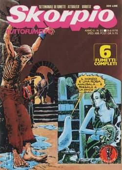 Copertina SKORPIO ANNO  2 n.22 - SKORPIO 1978            22, EDITORIALE AUREA