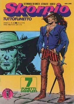 Copertina SKORPIO ANNO  2 n.25 - SKORPIO 1978            25, EDITORIALE AUREA