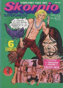 Copertina SKORPIO ANNO  2 n.26 - SKORPIO 1978            26, EDITORIALE AUREA
