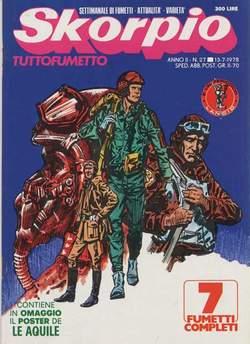 Copertina SKORPIO ANNO  2 n.27 - SKORPIO 1978            27, EDITORIALE AUREA