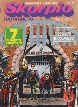 Copertina SKORPIO ANNO  2 n.30 - SKORPIO 1978            30, EDITORIALE AUREA
