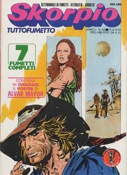 Copertina SKORPIO ANNO  2 n.32 - SKORPIO 1978            32, EDITORIALE AUREA